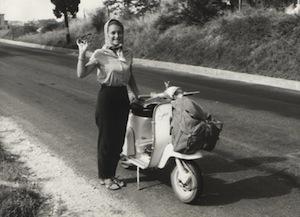 Maria Pia e Lambretta