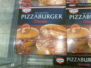 Pizza Burger - Dr Oetker