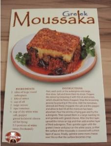 Ricetta originale Moussaka presa in Grecia!