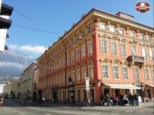 Passeggiata verso il centro di Innsbruck!